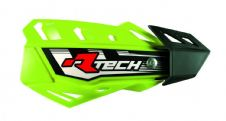 Racetech  Neon Yellow FLX Standard Handguards With Mount Kit Motocross Enduro